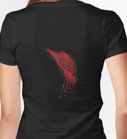 incomplete stretch - tee Womens Fitted T-Shirt