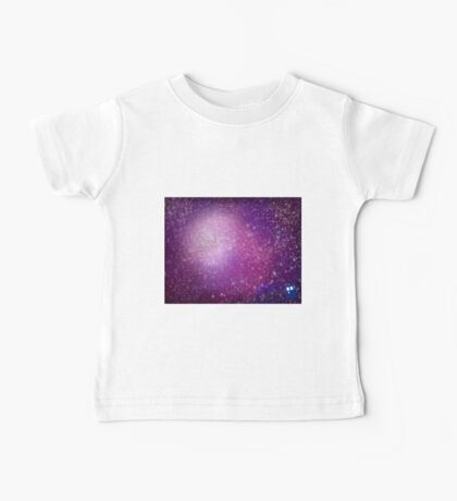 Purple Galaxy (TARDIS) Baby Tee