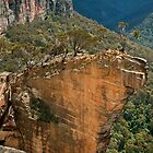 Hanging Rock at Baltzer Lookout by Chris  Randall
