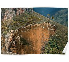 Hanging Rock at Baltzer Lookout Poster