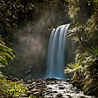Hopetown Falls in the Otway National Park by Chris  Randall