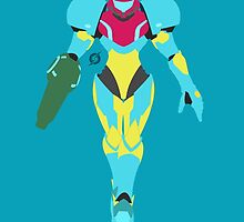 Samus (Fusion Suit) - Super Smash Bros. by samaran