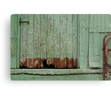 Old Loading Dock Metal Print