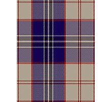 00485 Harris Royal Blue Tartan Photographic Print