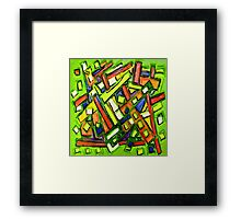 Uptown Oakland Designs By Octavious Sage  Framed Print