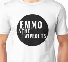 Emmo and the Wipeouts - Black version Unisex T-Shirt