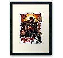 MGSV- Phantom Pain Framed Print