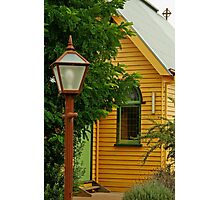 Cobin Farm Church Photographic Print
