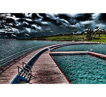 Eastern Beach Promenade - Geelong Victoria Photographic Print