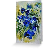 watercolor 112091 Greeting Card