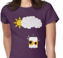 Sparkle in the sun Womens Fitted T-Shirt