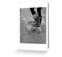 splashes Greeting Card