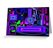 Brain Buster in Color Greeting Card