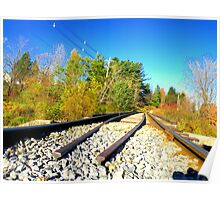 The Rails of Life Poster
