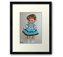 "My 1956 Nancy Ann ""Little Debbie"" Doll Framed Print"