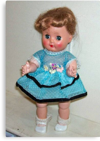 "My 1956 Nancy Ann ""Little Debbie"" Doll by Deborah Lazarus"