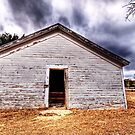 Carter Texas, Baptist Church - Texas Ghost Town by jphall