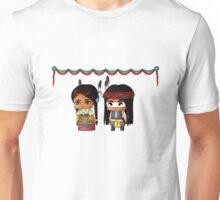 Chibi American Indians Unisex T-Shirt