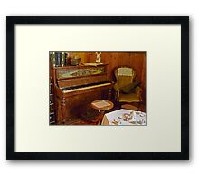 1860's iPod Touch Framed Print