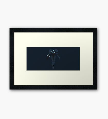 Samus (Dark Samus) - Super Smash Bros. Framed Print