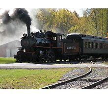Steam Engine Train Afternoon Photographic Print