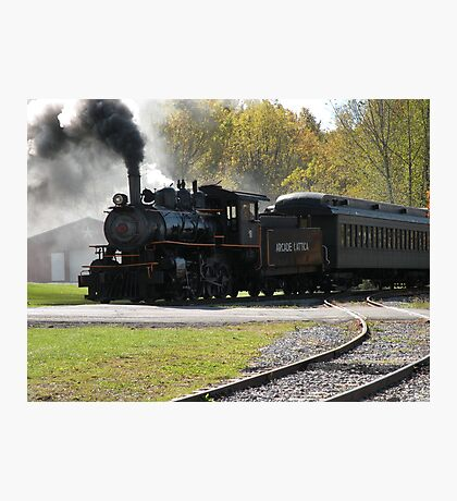 Steam Engine Train Afternoon Photographic Print