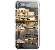 Marina in the Azores iPhone Case/Skin