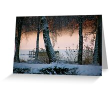 Mists of time Greeting Card
