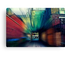 Zoom Canvas Print