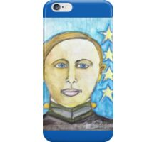 Young George Patton iPhone Case/Skin