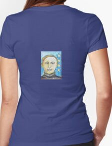 Young George Patton Womens Fitted T-Shirt