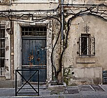 Arles: entrance to a town house by Stefan Stuart-Fletcher