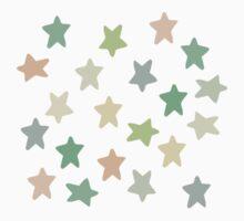 Bright pistachio stars Kids Tee