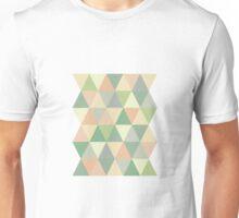 Pistachio triangles Unisex T-Shirt