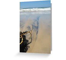 On Shore Greeting Card