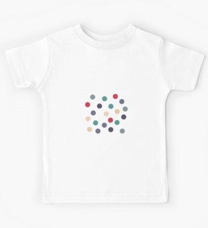 Sage polka dots Kids Tee