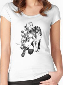 Sniper Wolf - MGSV Women's Fitted Scoop T-Shirt