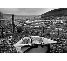 Bath Tub, South Wales Valleys Photographic Print