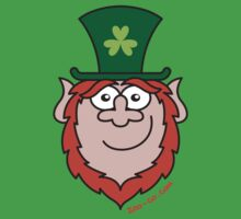 St Paddy's Day Leprechaun Smiling by Zoo-co