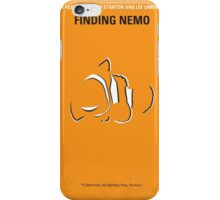 No054 My Finding Nemo minimal movie poster iPhone Case/Skin