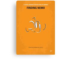 No054 My Finding Nemo minimal movie poster Canvas Print