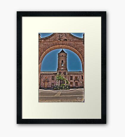 Church view Framed Print
