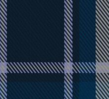 00492 Longniddry Blue Dance or Eildon or Harmony Eildon Tartan  Sticker