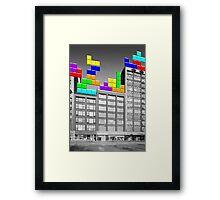 RETRO-Spective: Tetris Framed Print