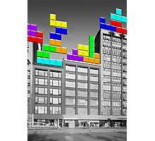RETRO-Spective: Tetris Photographic Print