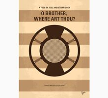 No055 My O Brother Where Art Thou minimal movie poster Unisex T-Shirt