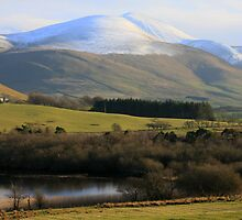 Skiddaw from Overwater by Linda Lyon