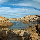 shell beach rock pools by adouglas