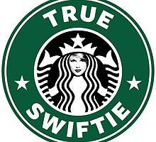 Taylor Swift - True Swiftie - Starbucks Logo by foulemilch