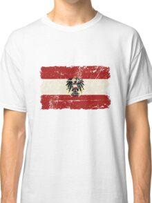 Austria Flag - Vintage Look Classic T-Shirt
